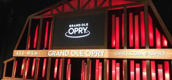 Live from the Grand Ole Opry!