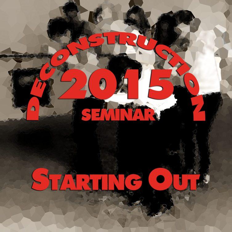 Starting out Seminar