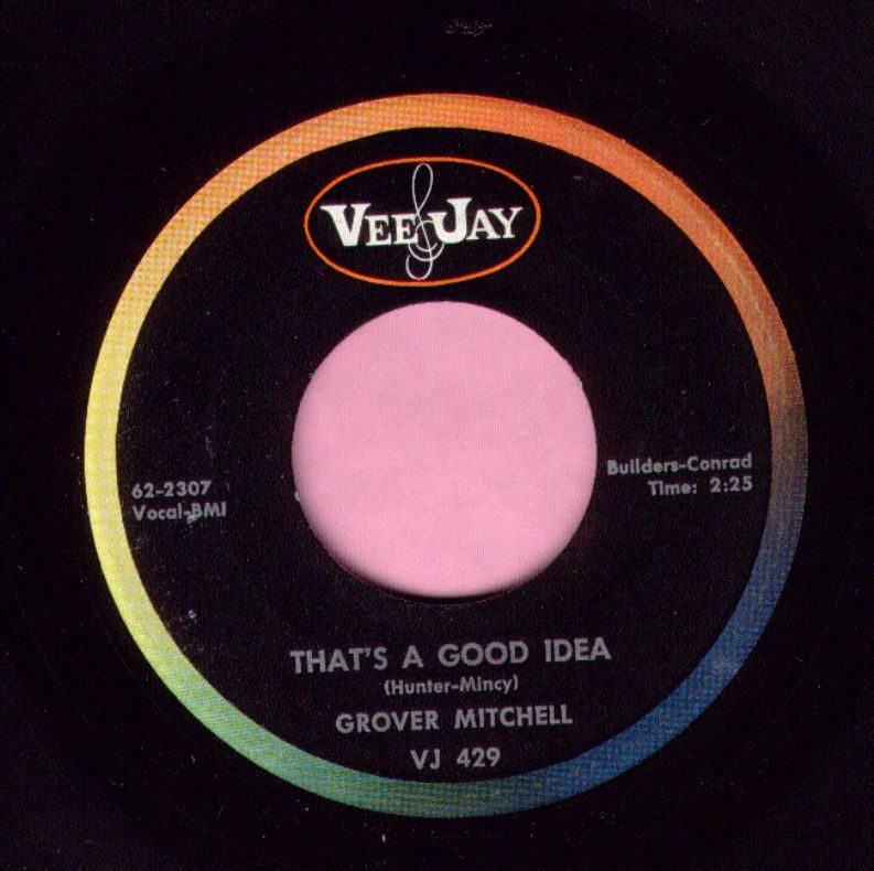 "Grover Mitchell "" That's A Good Idea "" Vee Jay Vg+"