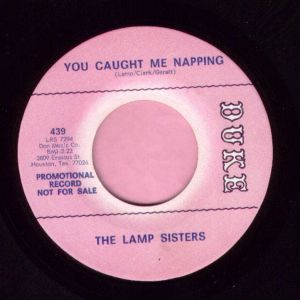 "The Lamp Sisters "" You Caught Me Napping "" Duke Demo M-"
