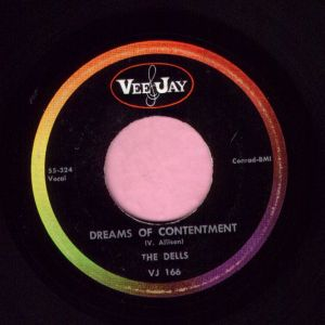 "The Dells "" Deams Of Contentment "" Vee Jay Vg+"