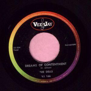 """The Dells """" Deams Of Contentment """" Vee Jay Vg+"""