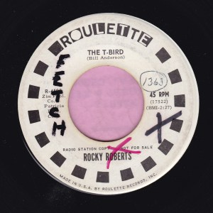 """Rocky Roberts """" The T-Bird """" Roulette Demo Vg+"""