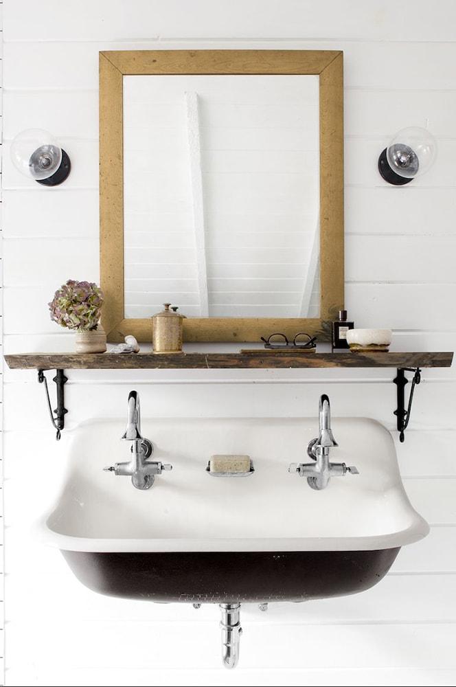 24 small bathroom shelf ideas rhythm