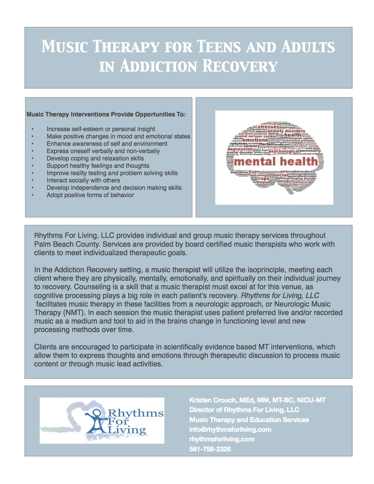 Music Therapy With Substance Abuse