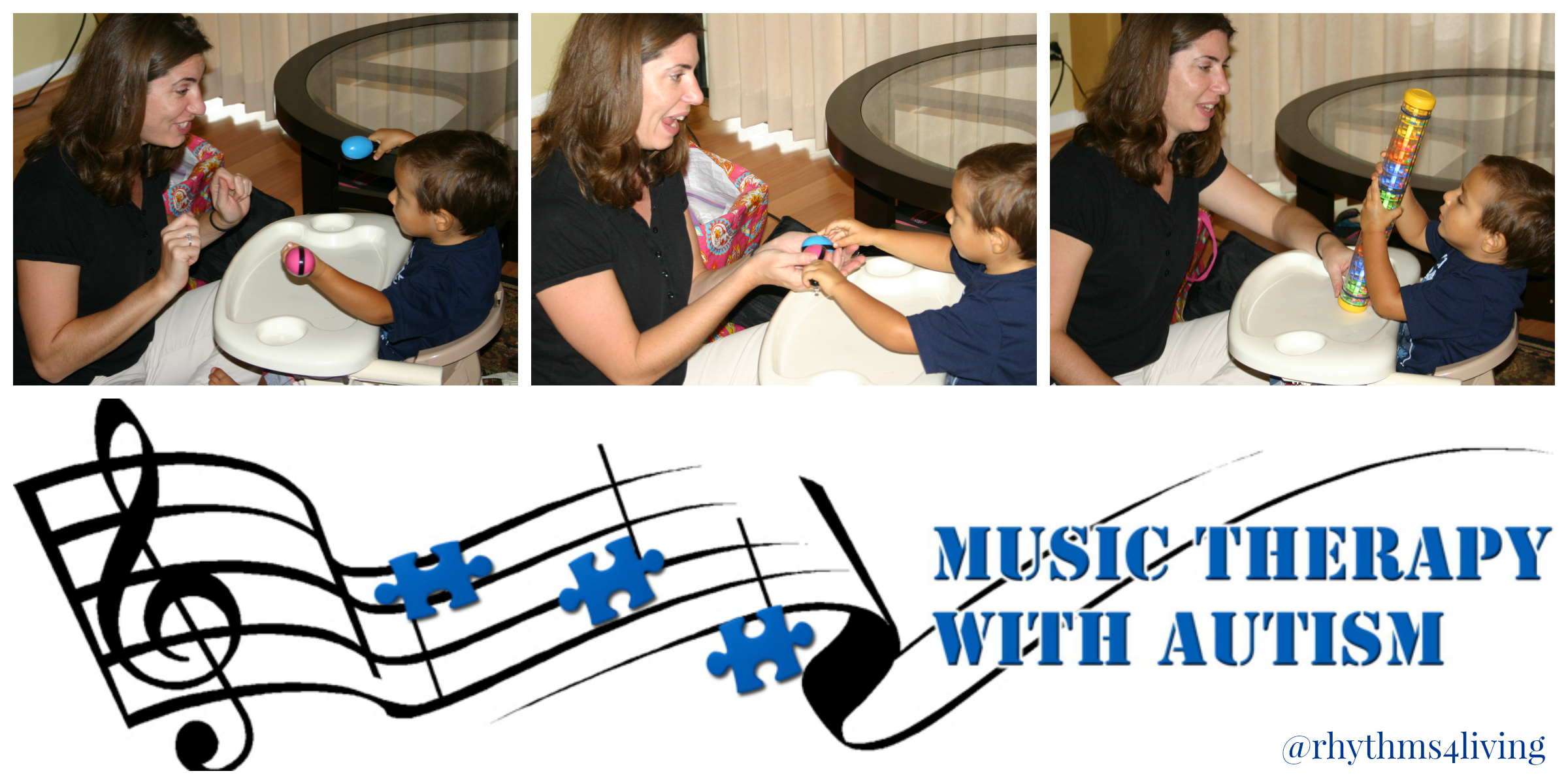 April is Autism Awareness Music Therapy with Autism