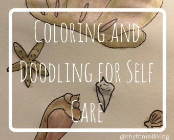Coloring and Doodling for Self-Care