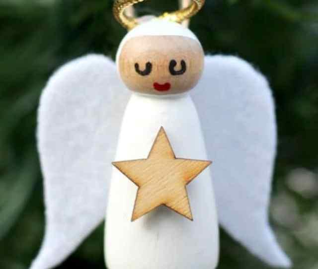 Diy Angel Christmas Ornament Diy Home Decor