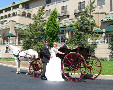 Willow Bend Carriages offers elegant transportation for your wedding day, prom, anniversary or special occasion