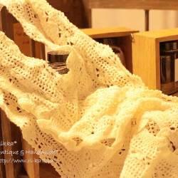レース編みストール