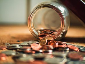 rehab is outdated and expensive, coin jar