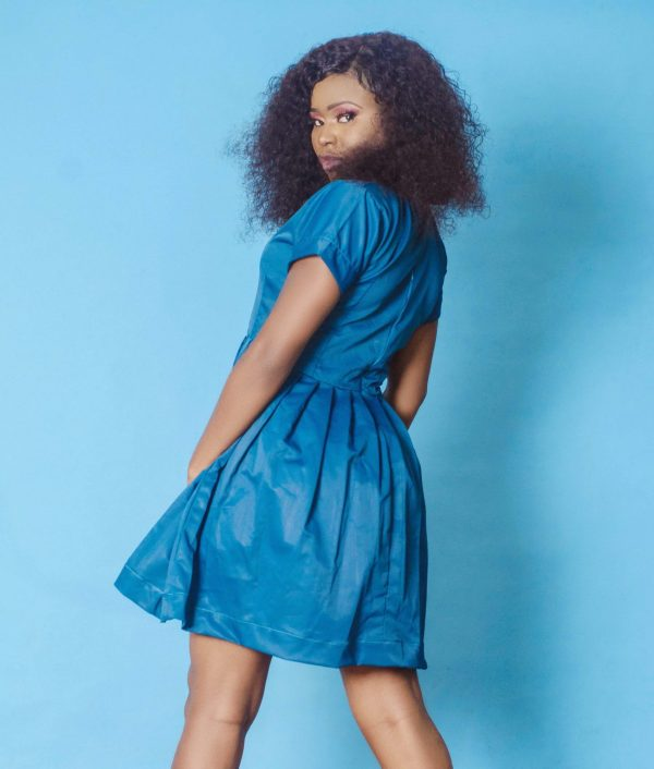 back view of the Valour Dress by Ria Kosher