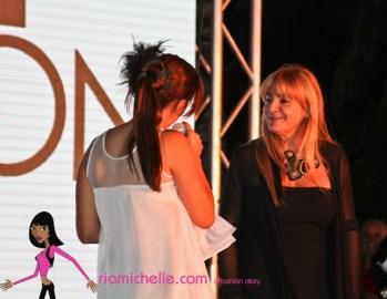 Viviana on stage