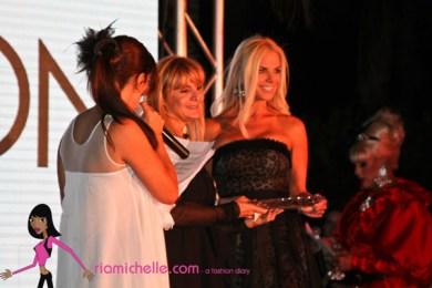 Viviana presenting to Alexia