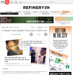 Refinery 29 12 Miami Twitter Handles You Need To Follow