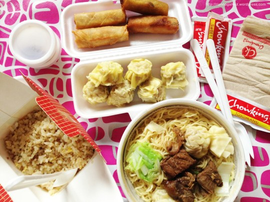 My breakfast from ChowkingA