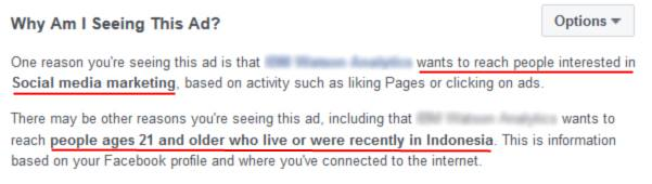 Belajar FB Ads dari Newsfeed 4