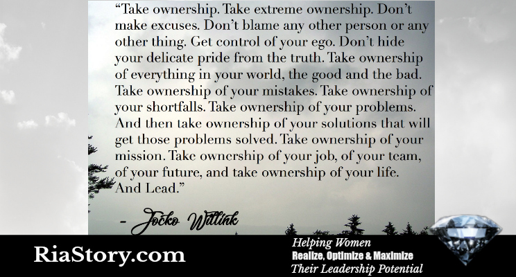 Taking Ownership as a Leader