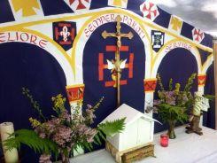 CEP OFIS Tente chapelle