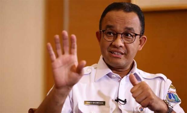 Gubernur DKI Jakarta Anies Bswedan