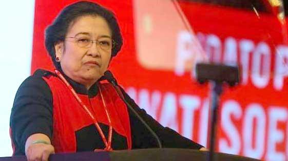 Ketua Umum PDIP Megawati Soekarnoputri.