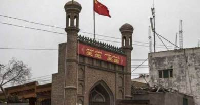 Masjid Uighur dirusak china
