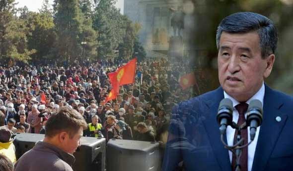 Presiden Kirgizstan Sooronbay Jeenbekov