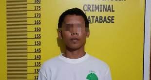 Victor Nainggolan pelaku penusukan security PT MCP