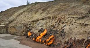 Api abadi Yanar Dag di Azerbaijan