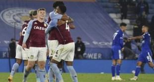 Aston Villa menang atas Leicester City