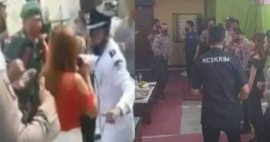 Polisi dangdutan