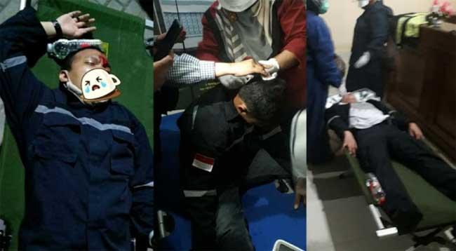 Relawan Muhammadiyah diserang