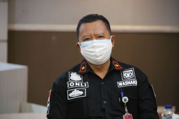 Kadisnakertrans Riau, H Jonli