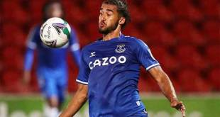 Striker Everton, Dominic Calvert-Lewin.