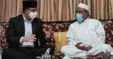 Gubernur DKI Jakarta Anies Baswedan dan Habib Rizieq Shihab.