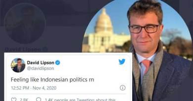 Kepala Biro ABC News di Amerika Serikat, David Lipson
