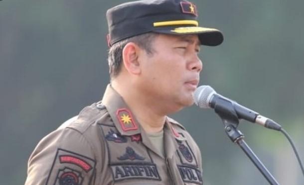 Kasatpol PP DKI Jakarta, Arifin.