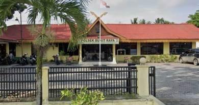 Polsek Bukit Raya Pekanbaru.
