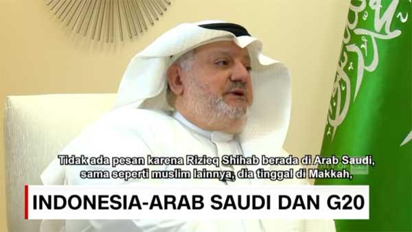 Dubes Arab Saudi untuk Indonesia