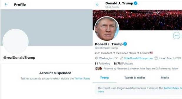 Twitter Donlad Trump