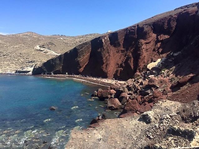 Red Beach - Santorini, Greece