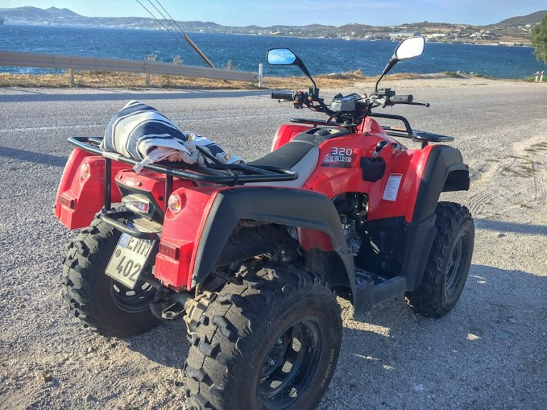 My quad bike