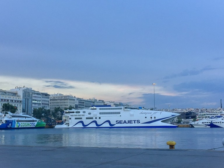 Seajest ferry - Piraeus