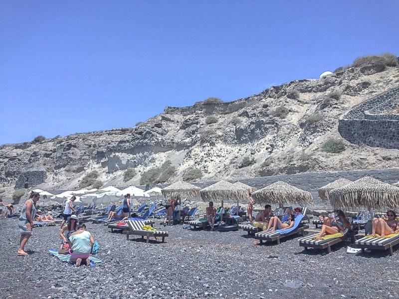 The White Beach, Santorini