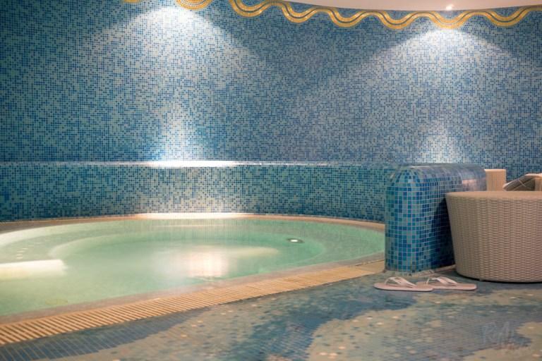 Hotel De Russie - wet area