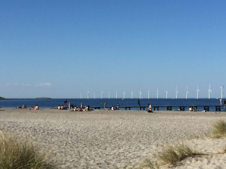 Amager Strandpark and beach