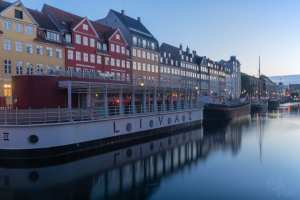 Before sunset at Nyhavn_Copenhagen 2018