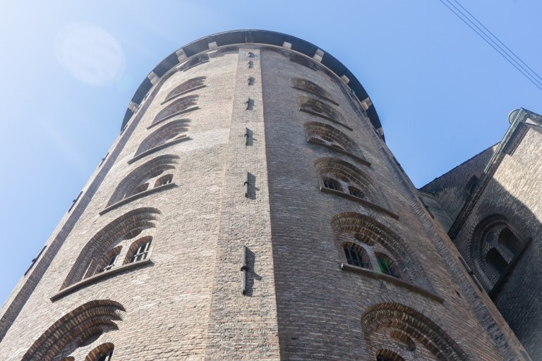 The Round Tower - outside