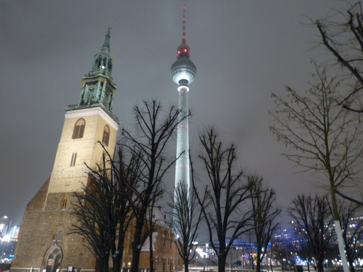 Fernsehturm Tower Berlin Jan 2017