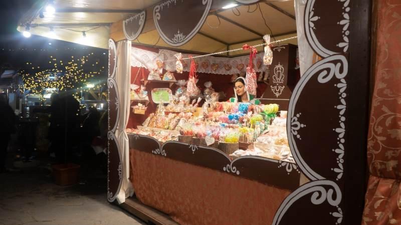 Florence Santa Croce Christmas Market, Dec 2018